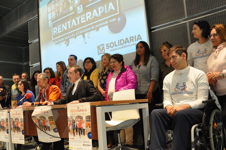 """Rueda de prensa """"X Solidaria"""" Palencia"""